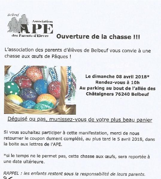 Chasse ouefs ape 001